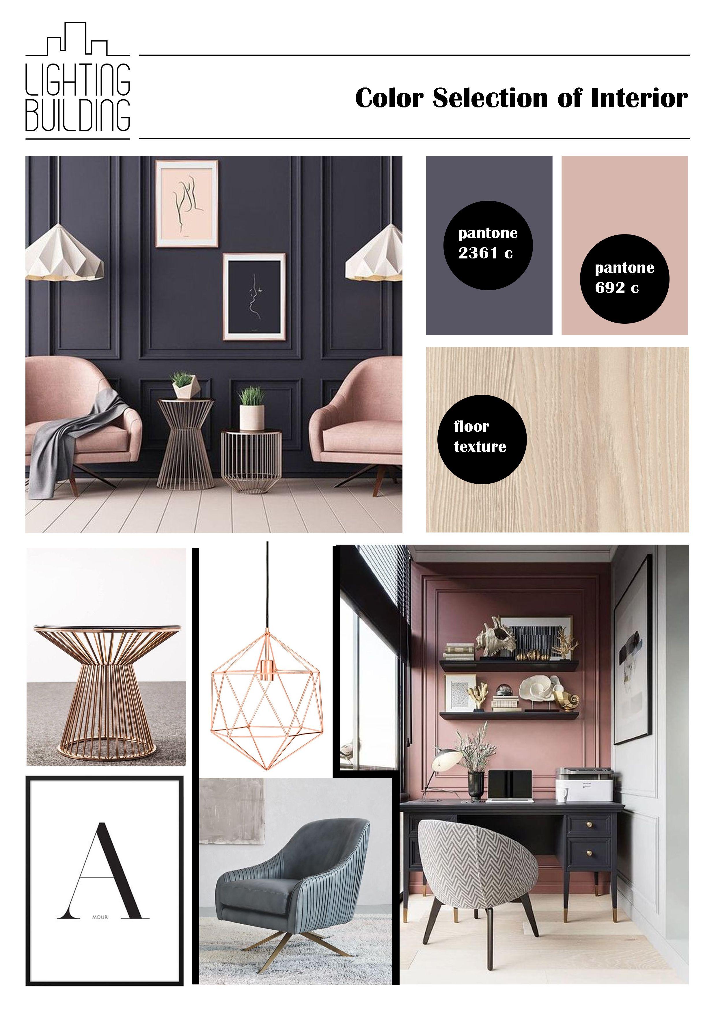 Pantone Color Of Interior Interior Design Mood Board Interior Design Presentation Interior Design Boards