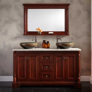 Cherry Bathroom Vanity Mirrors  Httpponyzone  Pinterest Classy Cherry Bathroom Vanity 2018