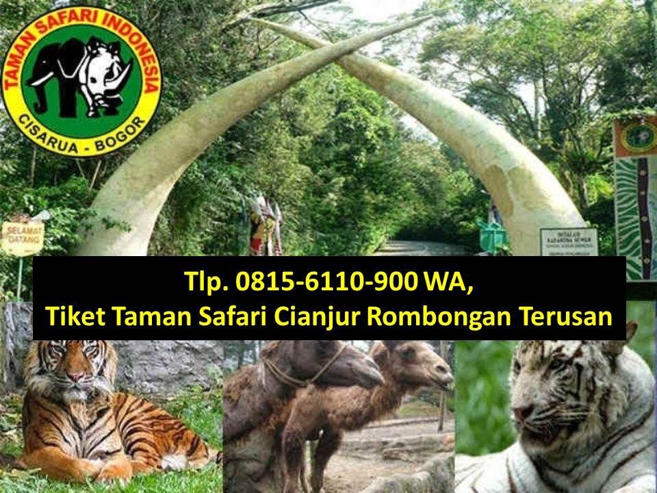 Tiket Masuk Kebun Binatang Bogor