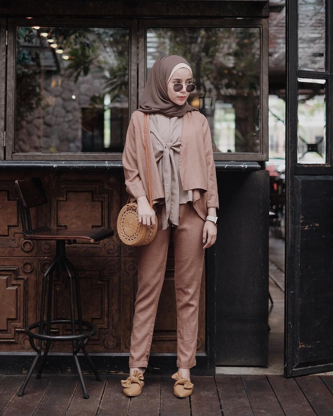 Pin di OOTD Baju Hijab Kekinian Ala Selebgram 8