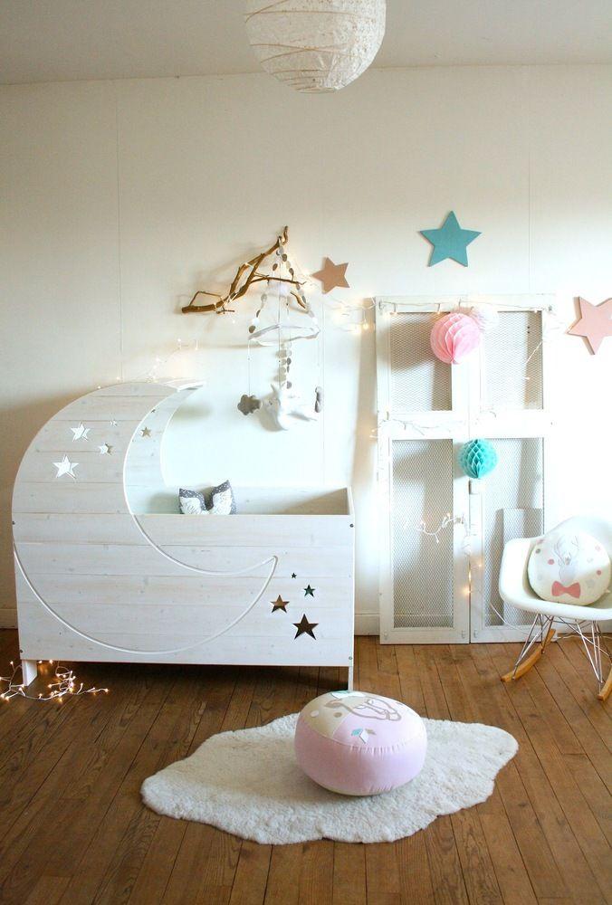 Lit Lune 0 4 Ans Habitaciones Infantiles Modernas Decorar
