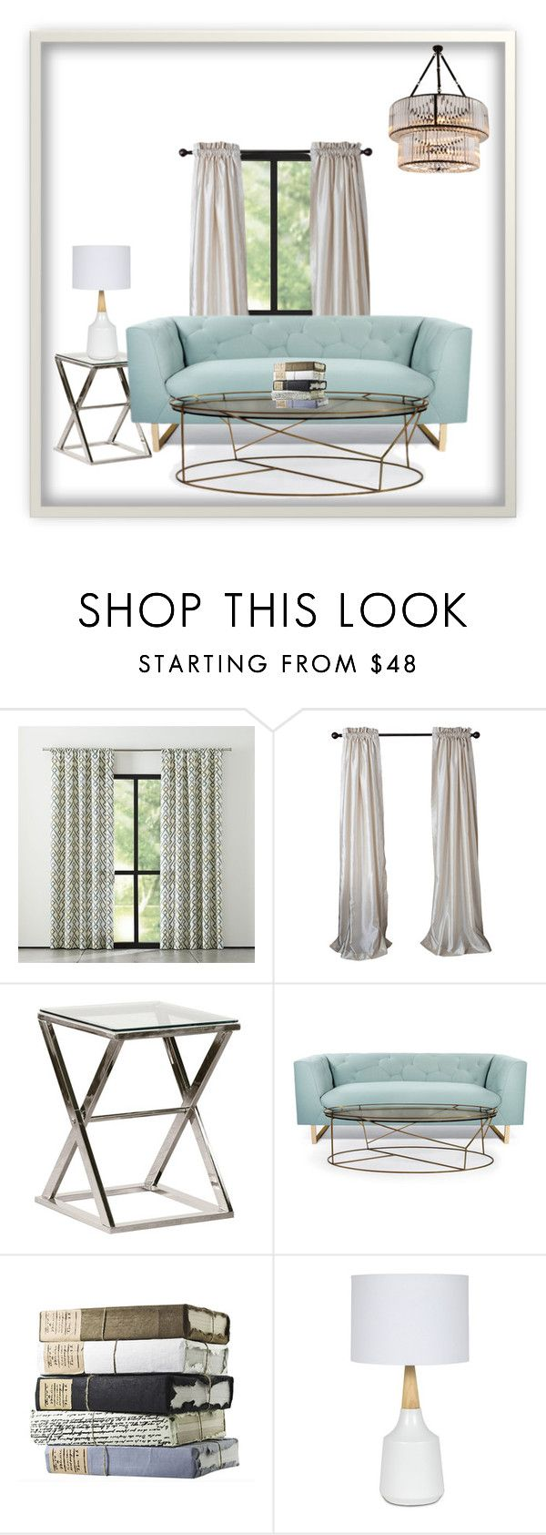"""""""Living Room"""" by ac-awesome ❤ liked on Polyvore featuring interior, interiors, interior design, home, home decor, interior decorating, Nimbus, Eichholtz and living room"""