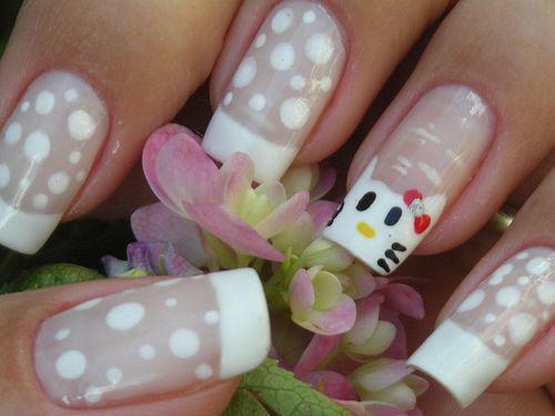 50 Intense Nailpolish Designs Hello Kitty Kitten And Hello Kitty