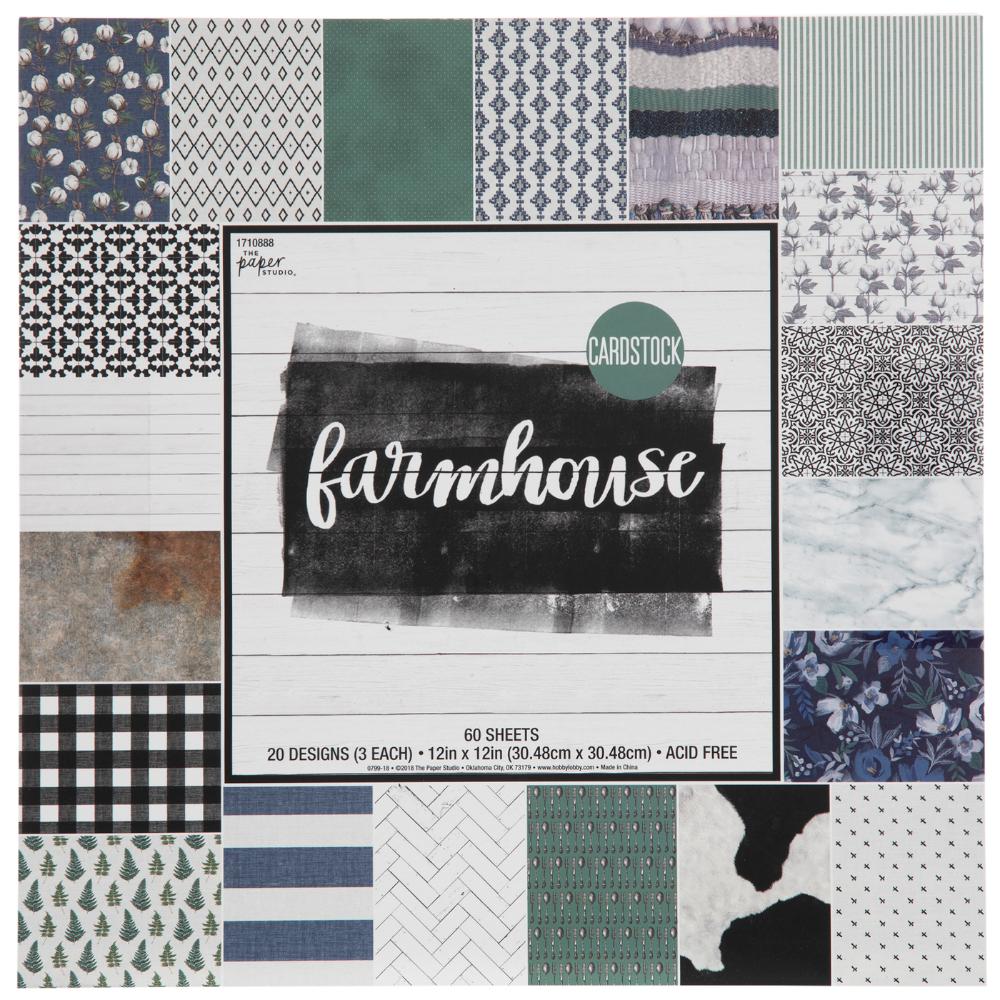 Farmhouse Cardstock Paper Pack 12 X 12 Hobby Lobby 1710888 In 2021 Cardstock Paper Scrapbook Paper Crafts Digital Scrapbook Paper