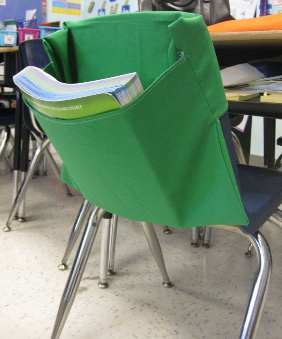 Chair Pockets Are The Perfect Solution For Classroom Teachers Who Need More Space Place Onto