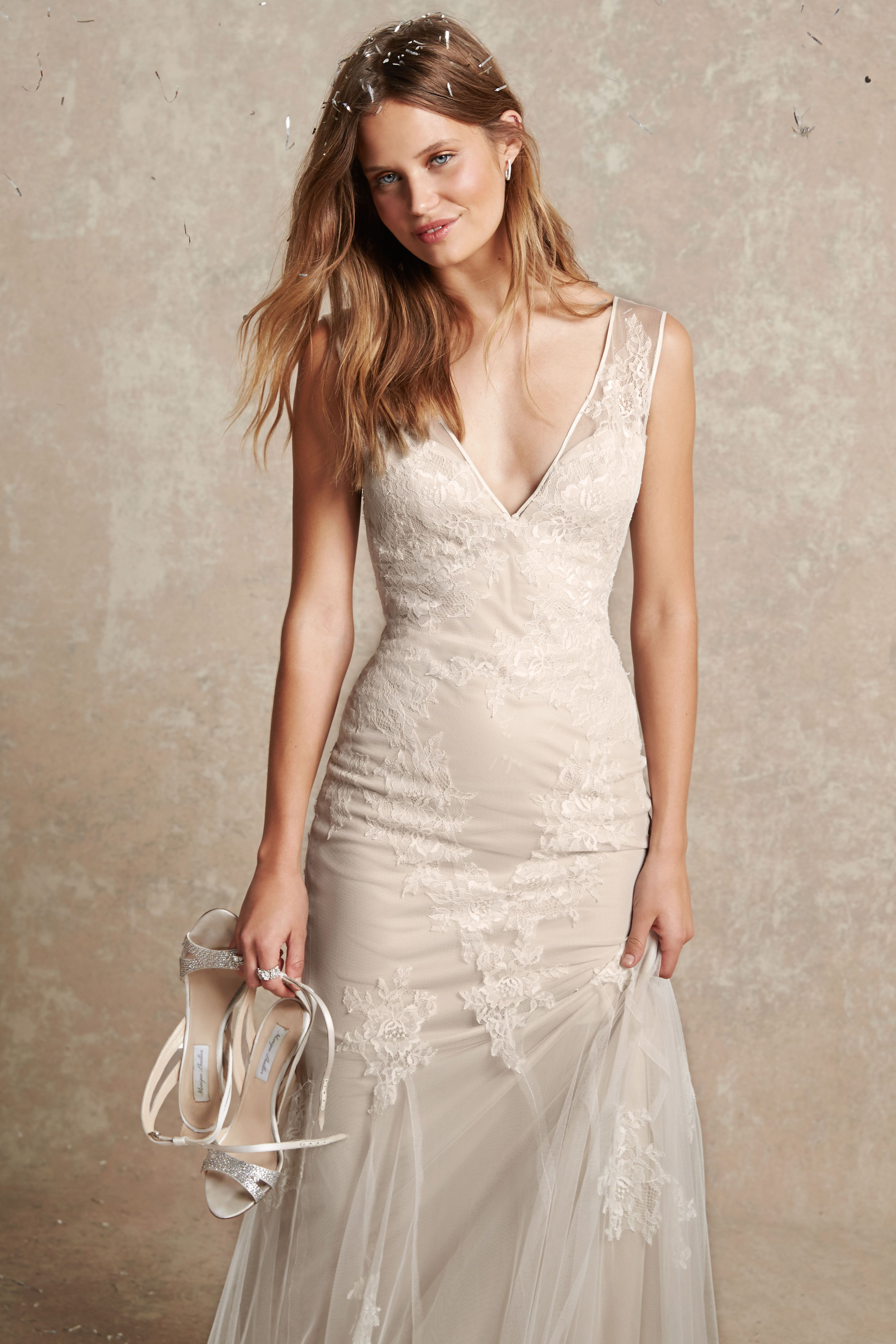 Bliss Monique Lhuillier Spring 2015 | Hippie wed dresses | Pinterest ...