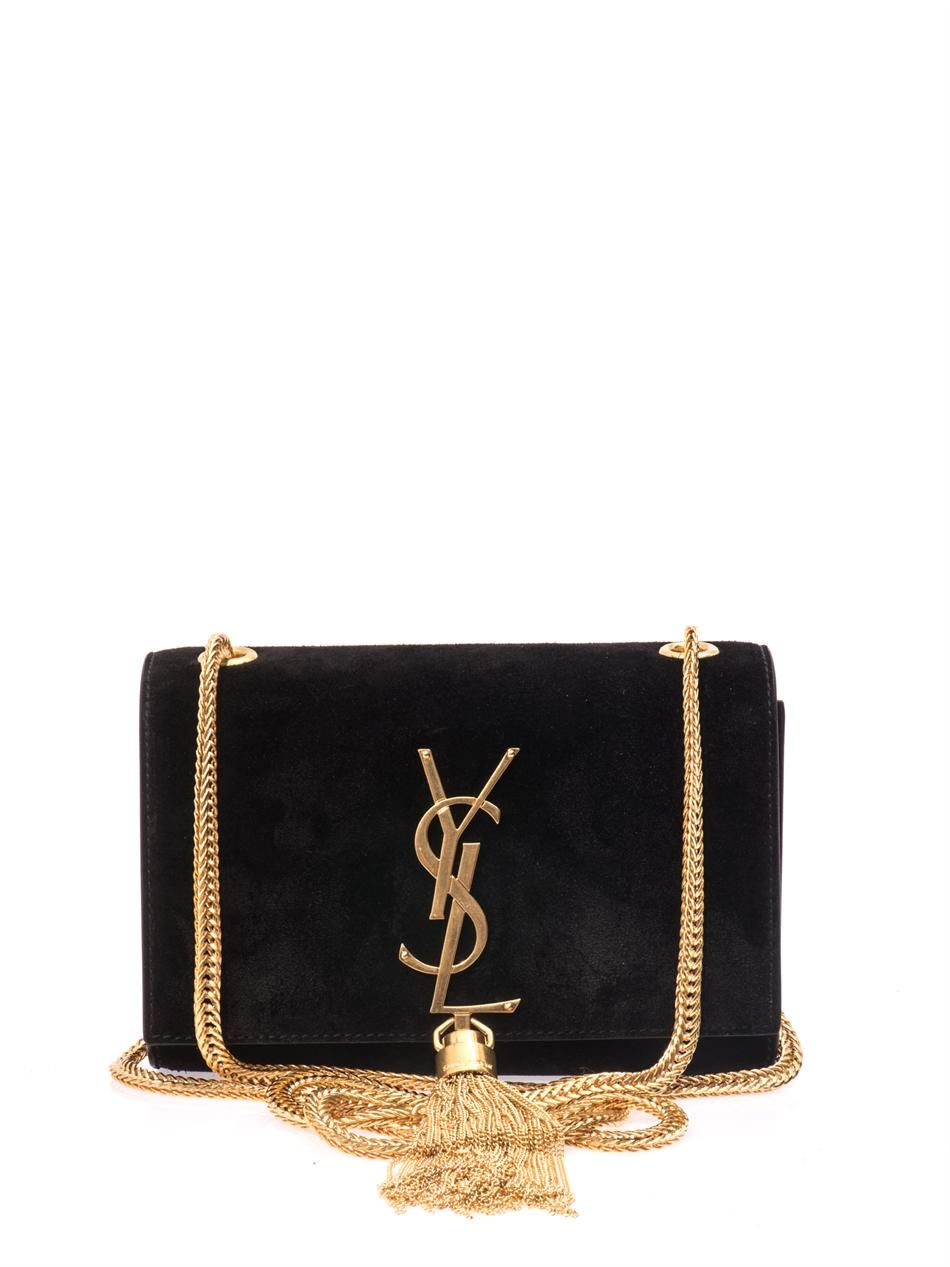 saint laurent YSL-F-326076-C0W0J bags BLACK Stamped with the label's iconic