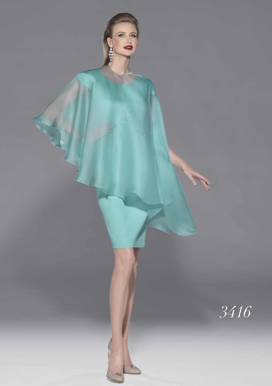 Vestidos de fiesta azul turquesa 2014