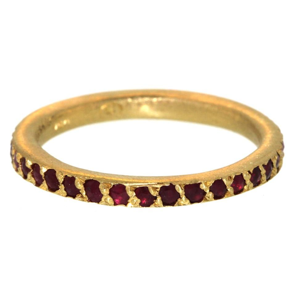tiny rings, ruby