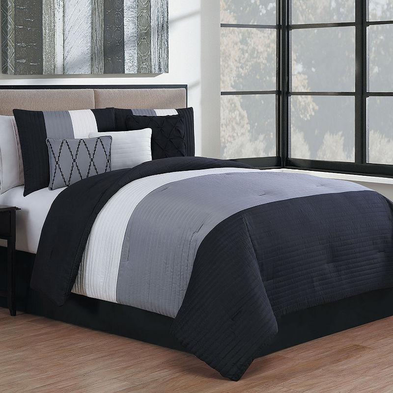 Manchester 7 Pc Comforter Set Comforter Sets Luxury Comforter Sets Bed Linens Luxury