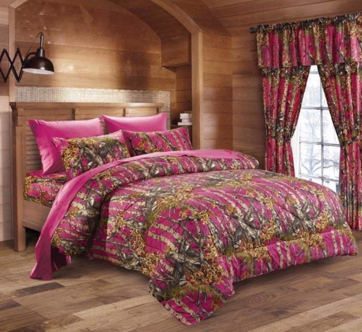 1 PC FULL QUEEN TEAL CAMOUFLAGE COMFORTER THE WOODS CAMO BEDDING WOODLAND