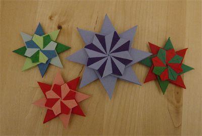 franziska stern origami sterne weihnachtskarten und. Black Bedroom Furniture Sets. Home Design Ideas