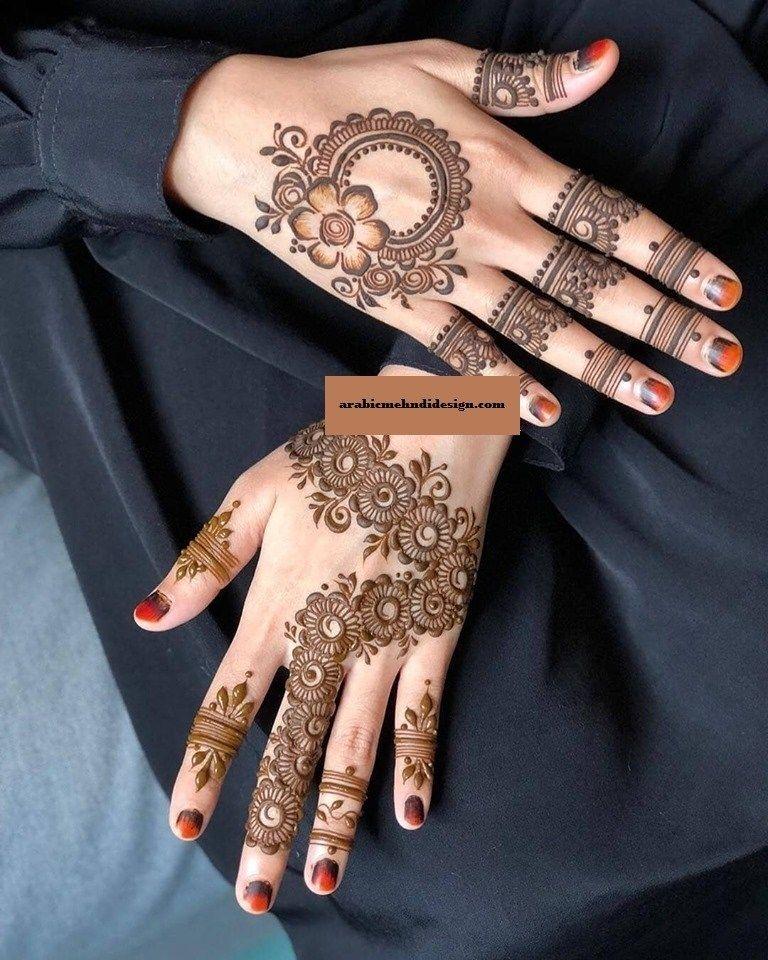 simple trending mehndi designs