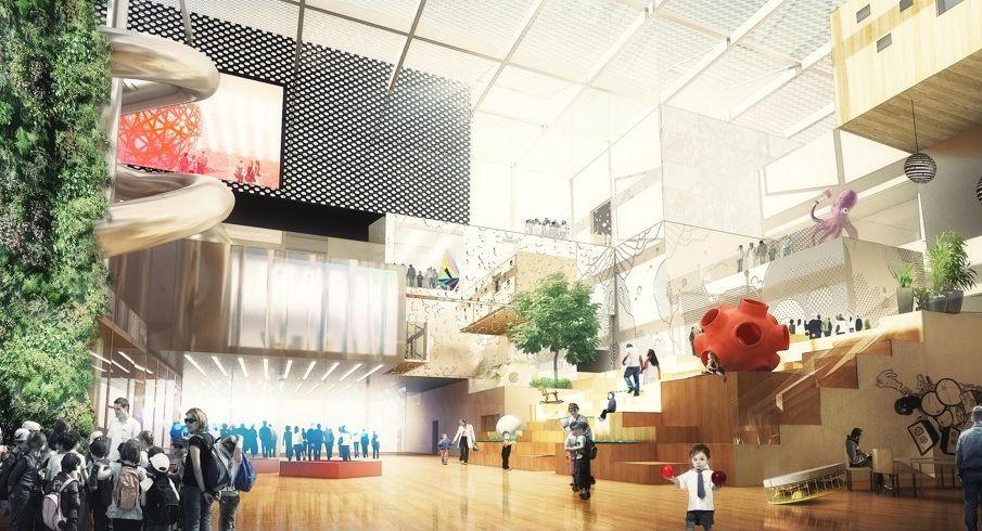 LOUISVILLE Children's Museum - NAS architecture