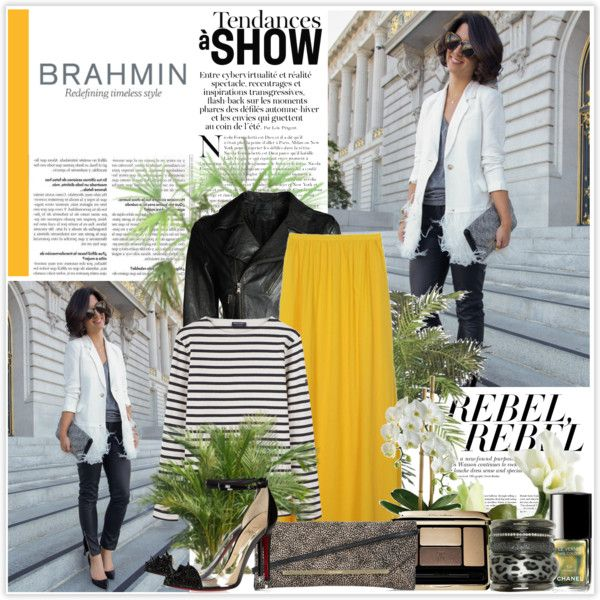 """""""How Do You Wear Your Brahmin?"""" by m-h21 ❤ liked on Polyvore"""