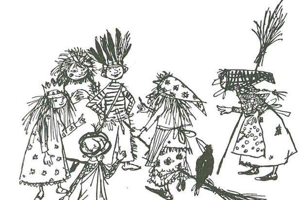 die kleine hexe  märchengeschichten wiki  zeichnungen