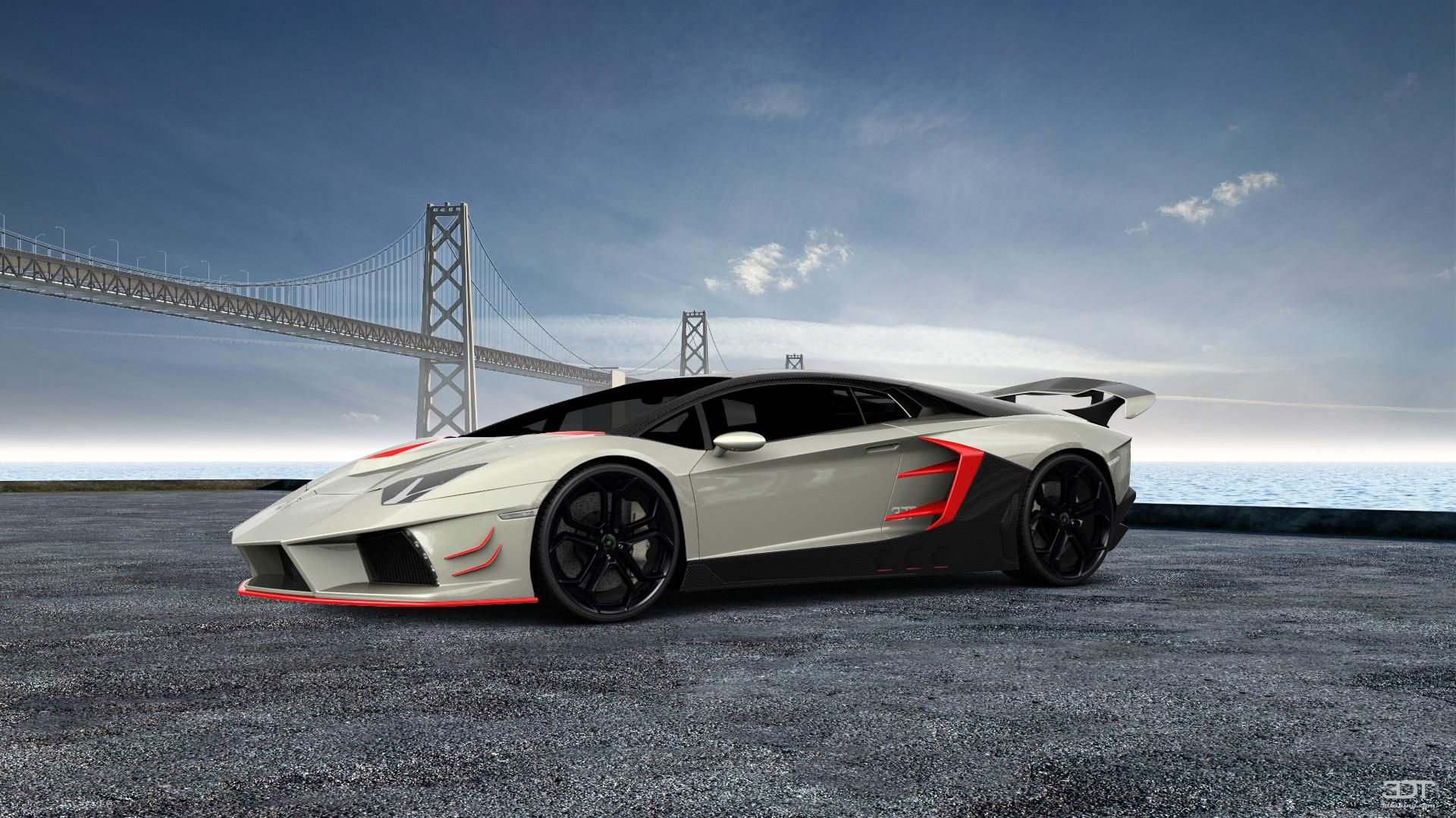 Checkout My Tuning #Lamborghini #Aventador 2012 At 3DTuning #3dtuning  #tuning