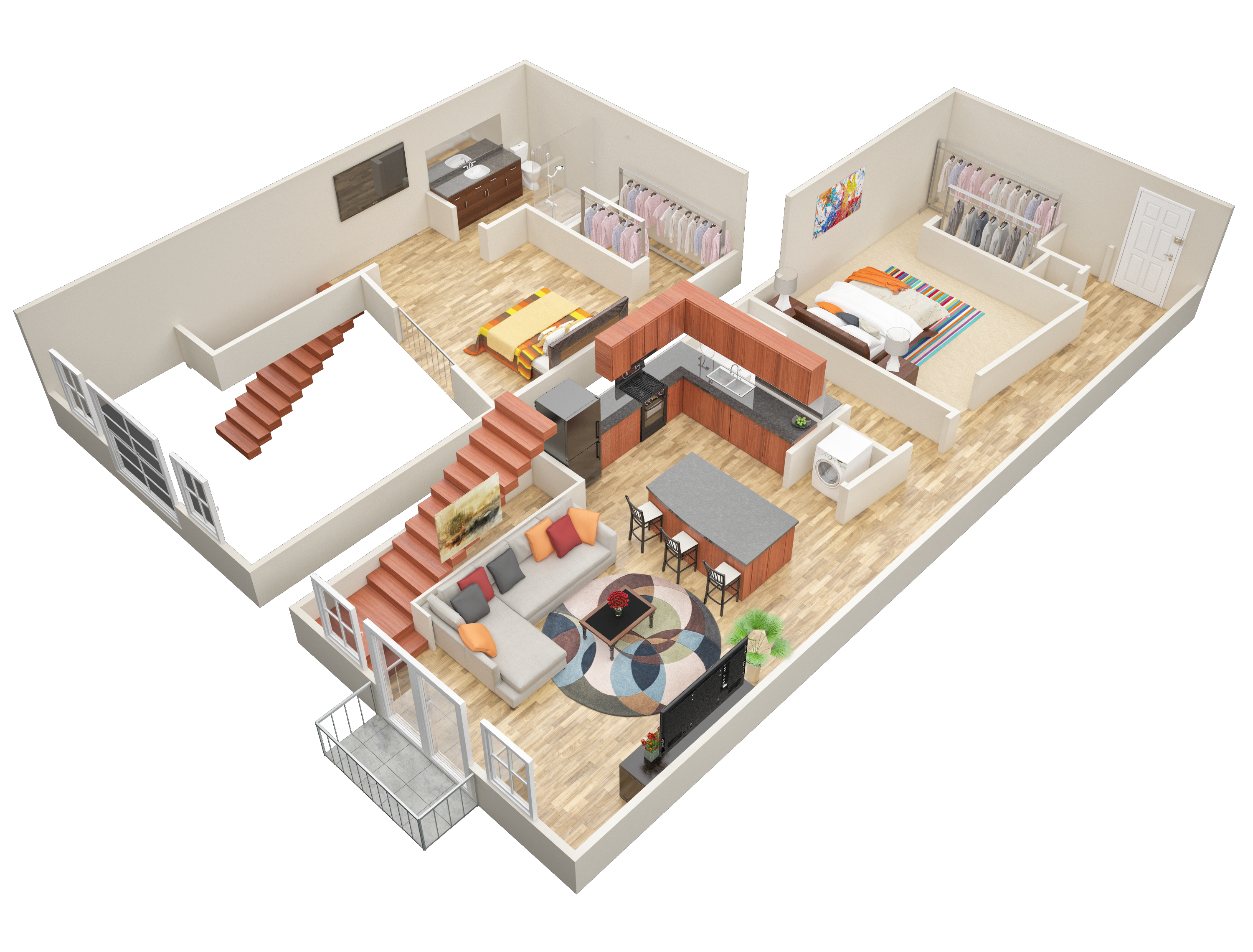 Image result for loft apartment floor plans loft idea 1 - 1 bedroom apartments in atlanta under 400 ...