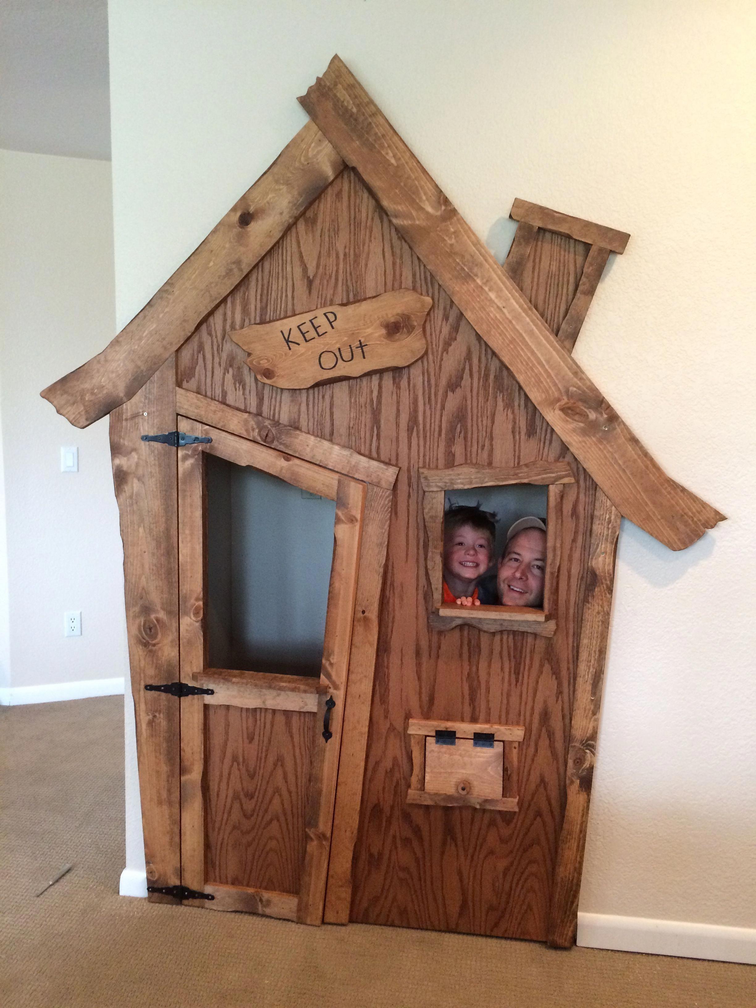 Diy indoor playhouse transformation diyplayhouse