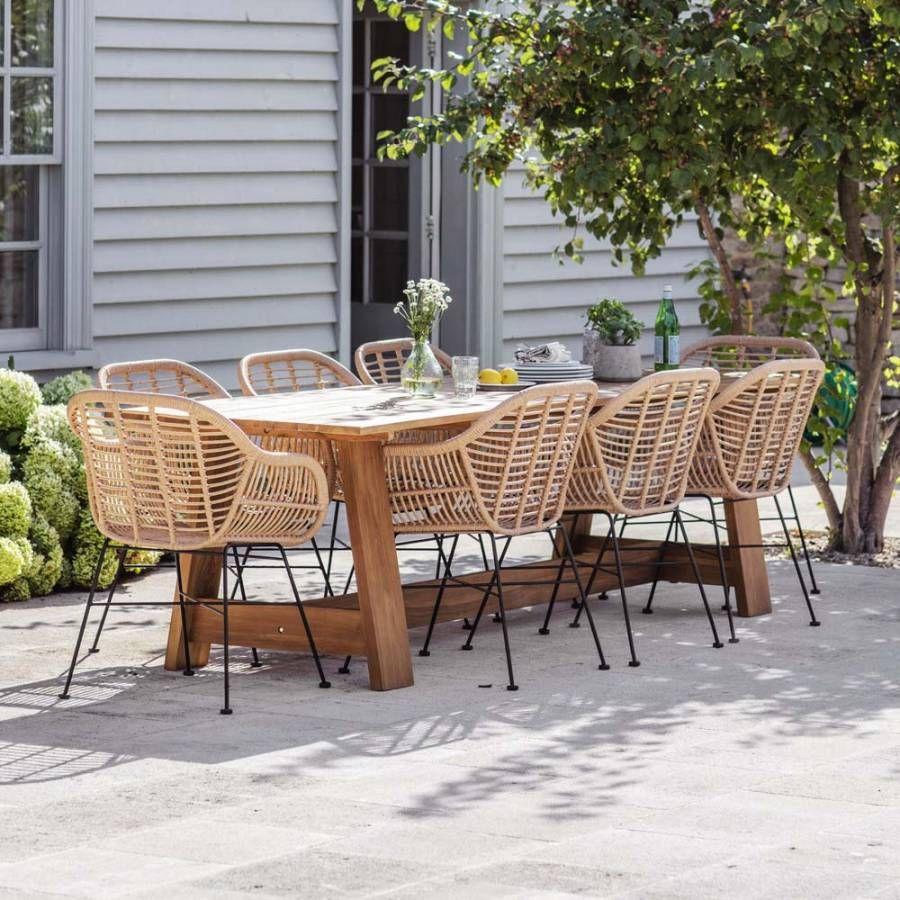 Garden Trading Whitcombe Table  Outdoor dining set, Outdoor