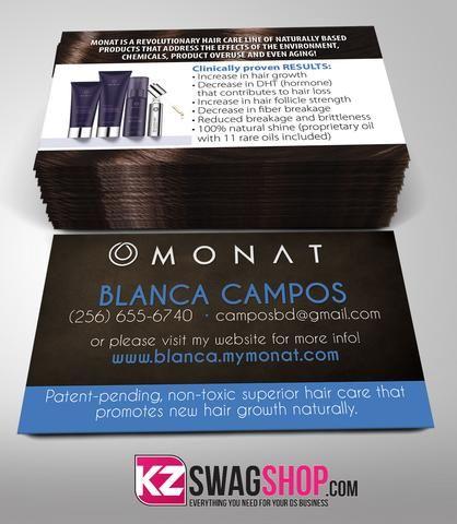 Monat Business Cards Style   Monat Business Cards
