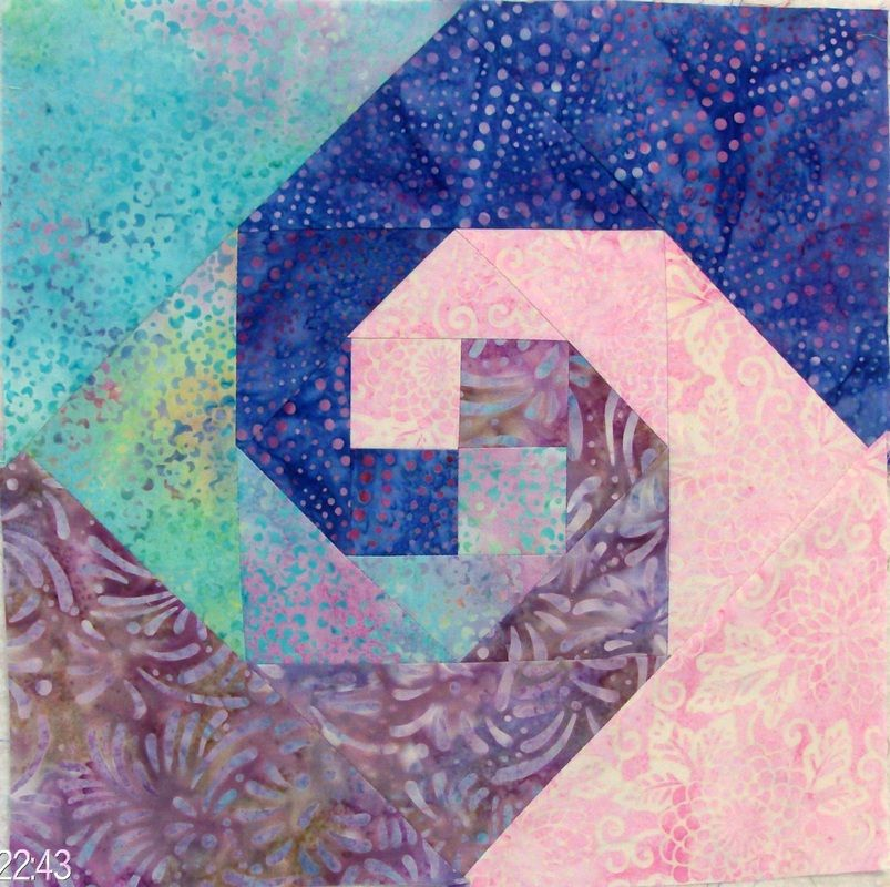 Quilting Blog Snails Trail Quilt Block From Quilting Pinterest