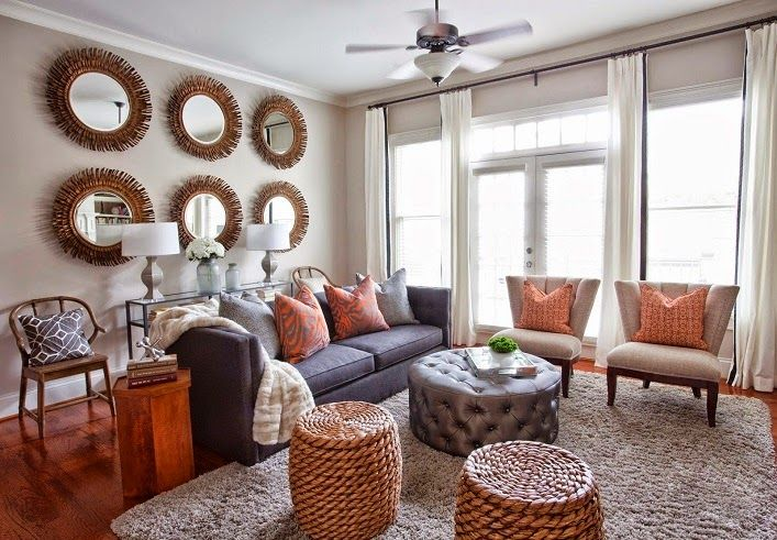 Mix and Chic: Living room