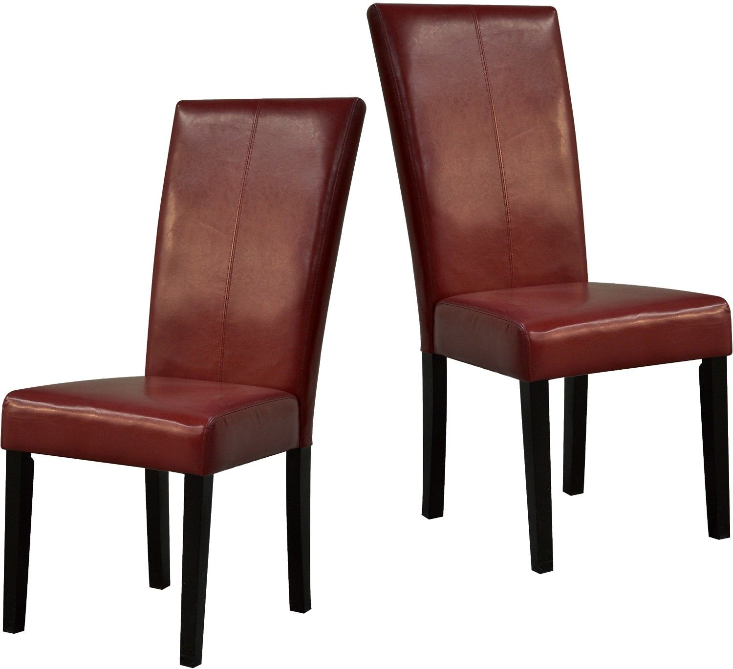 Red Dining Chairs  Package Of Two  The Brick  A Apartment Best Dining Room Chairs Red Inspiration Design