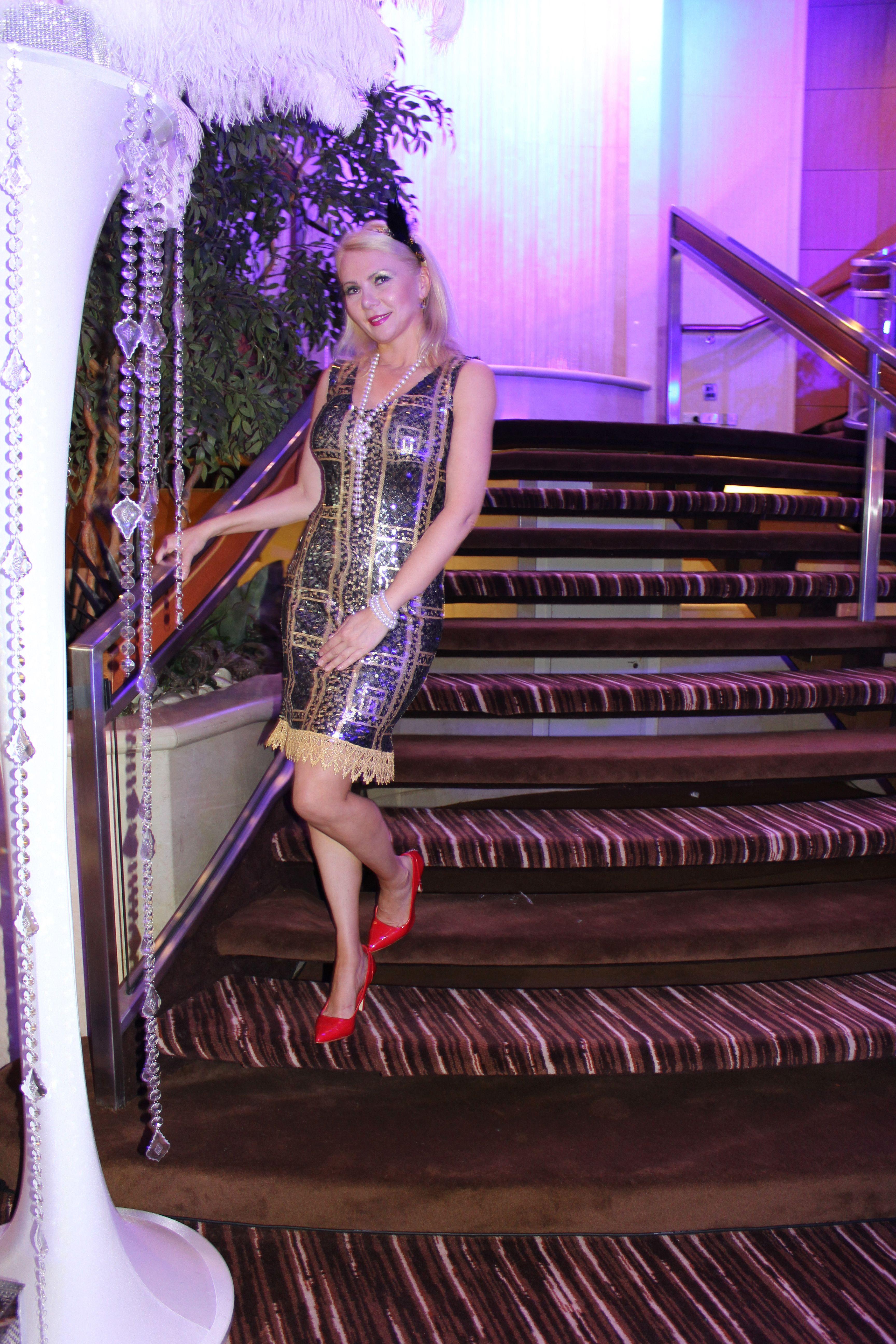 Contemporáneo Vestido De Fiesta Gatsby Galería - Vestido de Novia ...