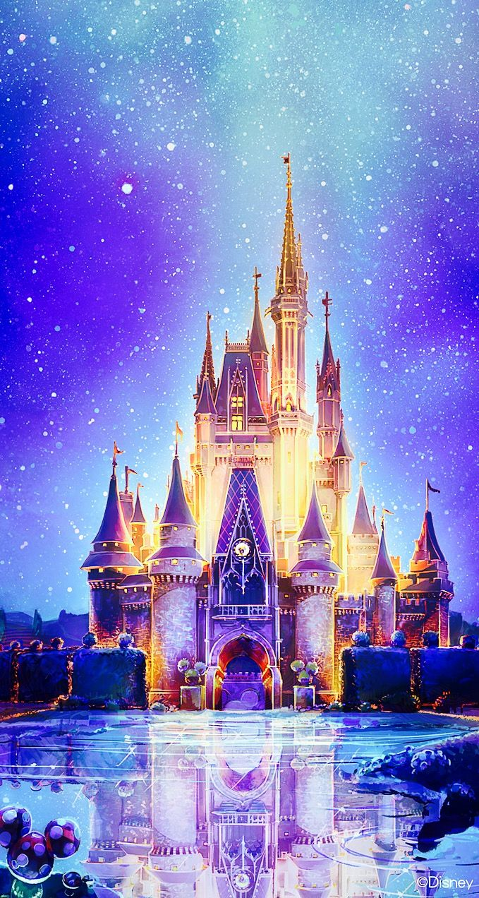 Magic Kingdom Disney World IPhone Wallpaper Background Lockscreen