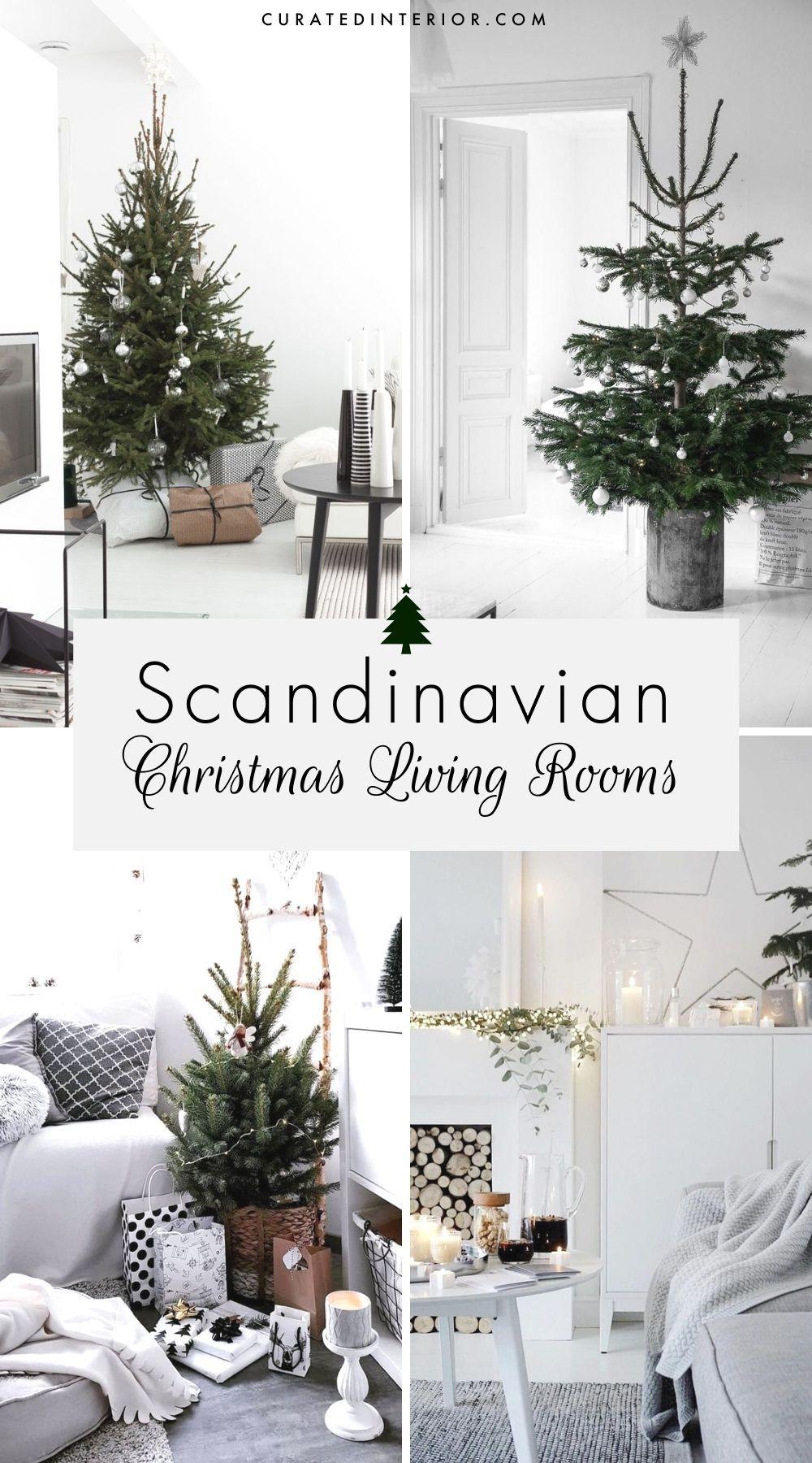 Scandinavian Christmas Living Rooms These Nordic Christmas Living Room Decor Ideas Will Inspir In 2020 Christmas Living Rooms Christmas Decorations Living Room Decor