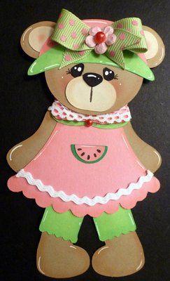 cute little paper bear! by Adriana