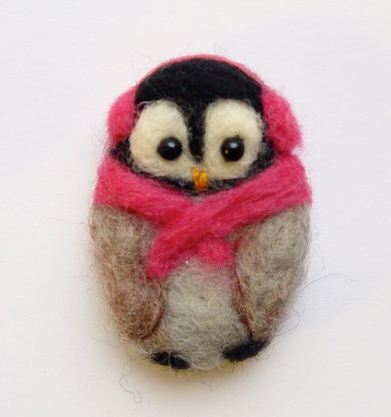 Penguin brooch needle felted brooch cozy penguin teen gift penguin brooch needle felted brooch cozy penguin teen gift felt brooch pin penguin gift scarf colour choice negle Images