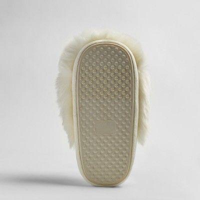 eceac90164d Women s Noley Unicorn Puff Slippers - Xhilaration Ivory S(5-6)