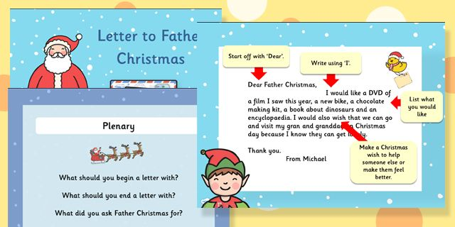 Twinkl resources letter to father christmas task setter letter to father christmas differentiated lesson teaching powerpoint spiritdancerdesigns Images