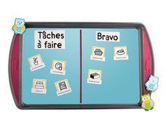 Ce bricolage facile à réaliser permet aux enfants de mieux gérer leurs responsabilités. Utilisez ce tableau de tâches pour obtenir de l'aide dans la maison et savoir ce qui a été fait.