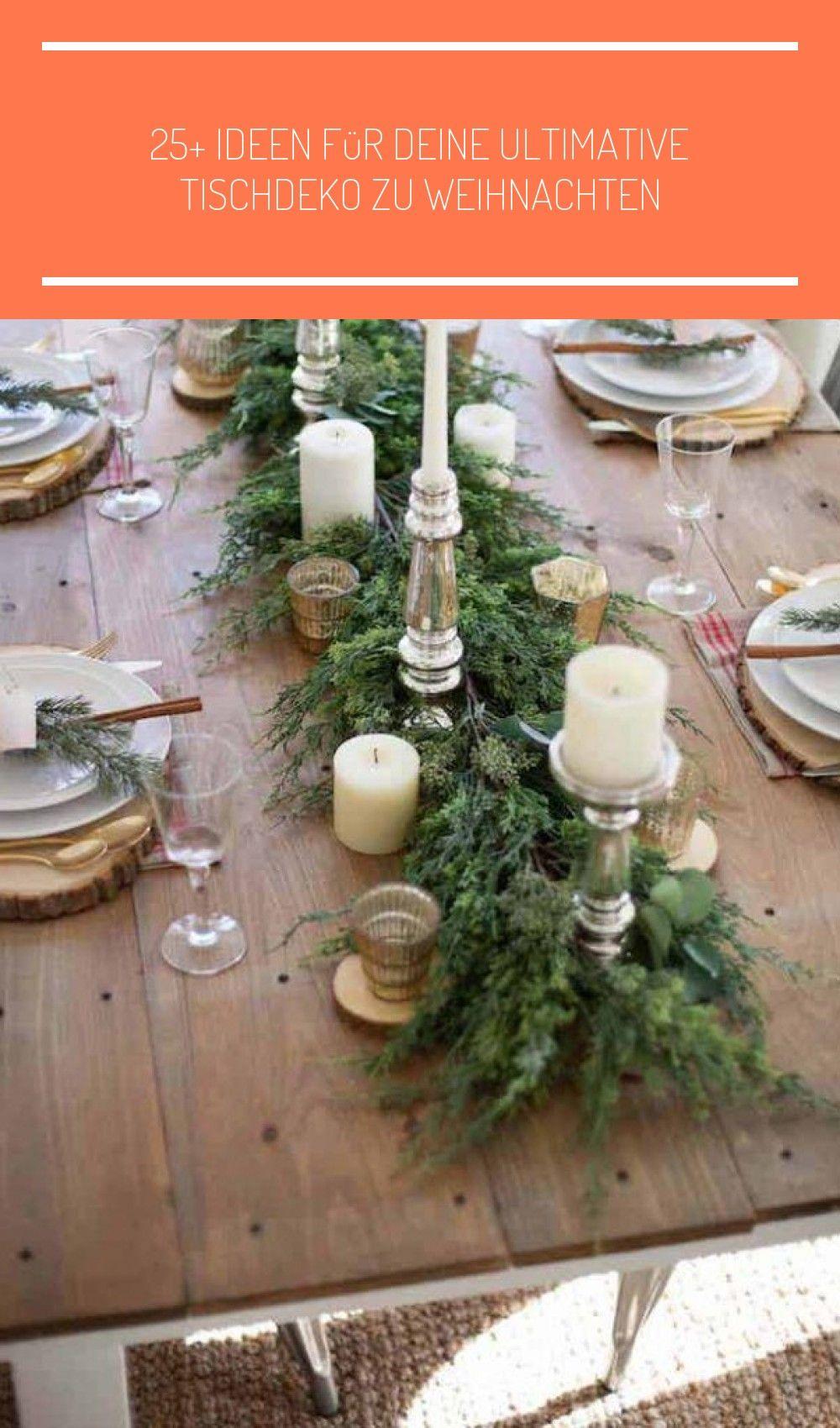 25 Ideen Fur Deine Tischdeko Zu Weihnachten Heute Habe Ich Einige
