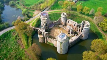 Chateau Fort De La Hunaudaye Cotes D Armor Chateau