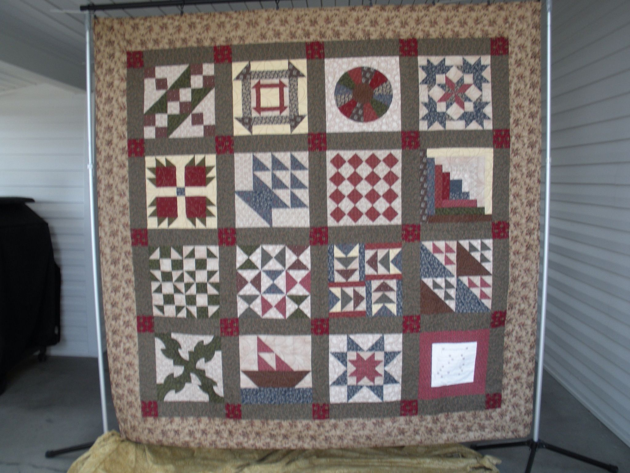 Quilt Patterns Used During The Underground Railroad : Underground Railroad Quilt. QUILTS MADE BY ME Pinterest Underground railroad and Civil war ...