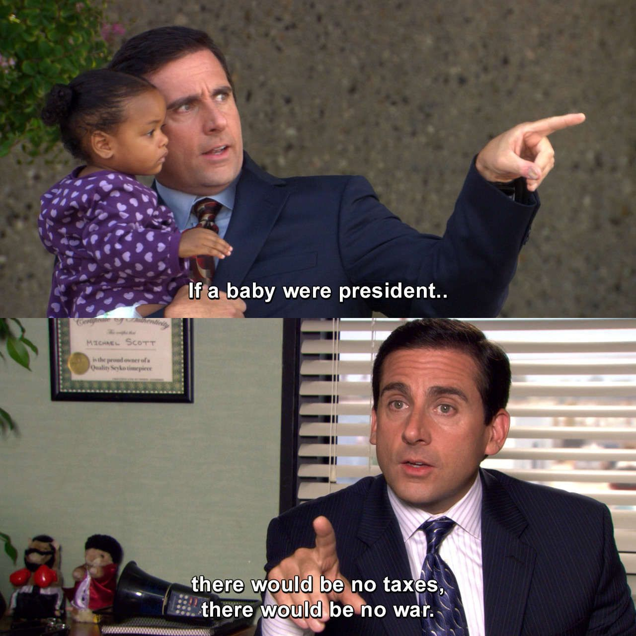 The Office Baby Shower Michaelscott Theoffice Babyshower Quotes Haha The Office