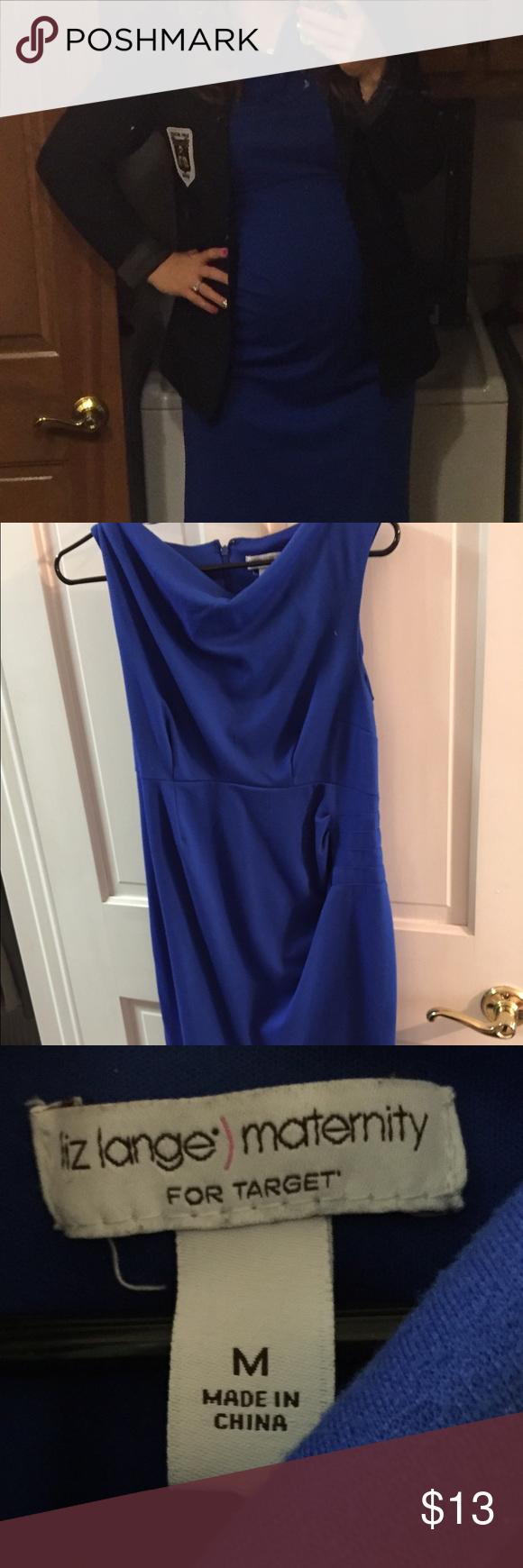 30269087ab739 Blue maternity dress - size m Maternity dress- professional, knee length,  size medium Liz Lange for Target Dresses