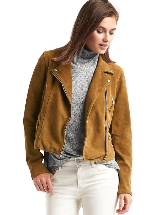 This suede moto jacket is a beautiful shade of honey camel. I have been  looking for it everywhere. Now that I know it exists 7c853d1c7c5