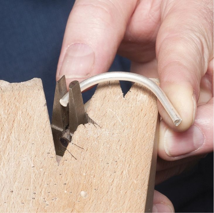 Bench pin basics V notch