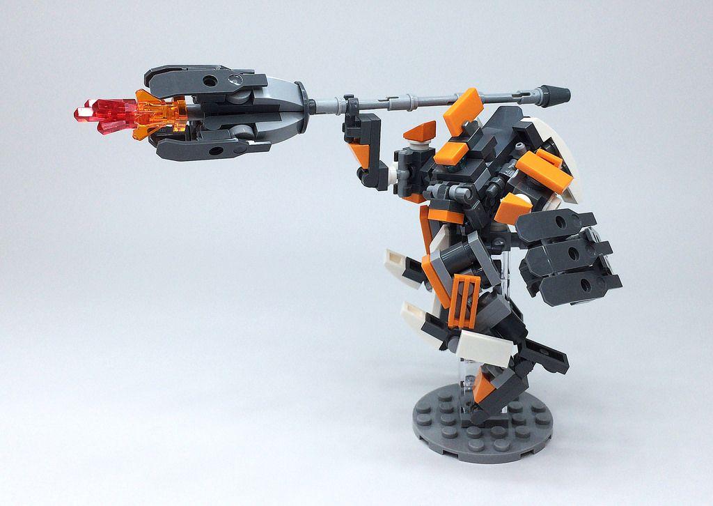 LEGO Robot Mk-7-09 http://www.flickr.com/photos/142497481@N02/28732915046/