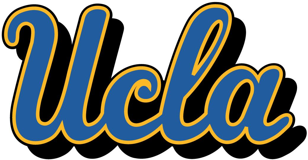 UCLA Script logo cookie design | Cookie ideas in 2019 | Ucla bruins