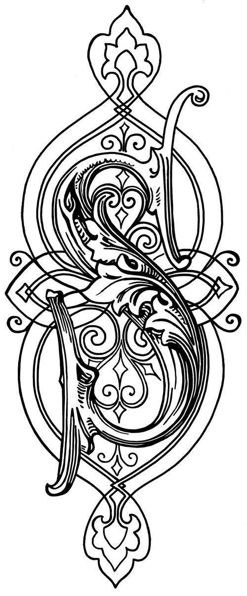 Printable Alphabets Art Pinterest And
