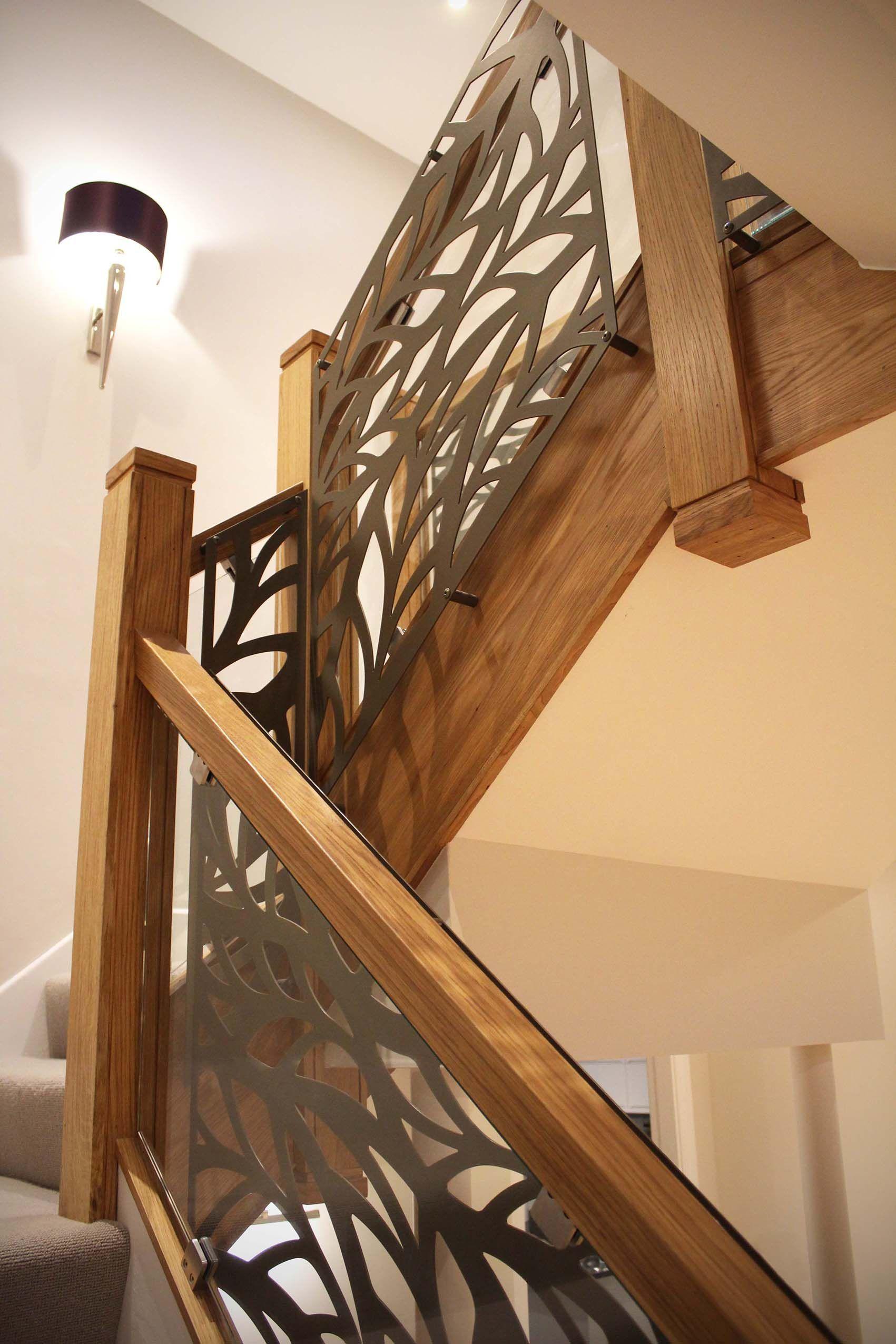 balustrade infill laser cut screens frond design by. Black Bedroom Furniture Sets. Home Design Ideas