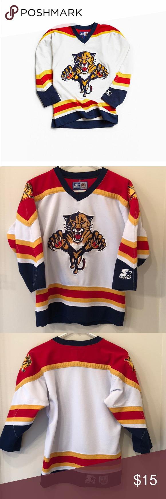 Vintage Nhl Florida Panthers Hockey Jersey Florida Panthers Florida Panthers Hockey Nhl
