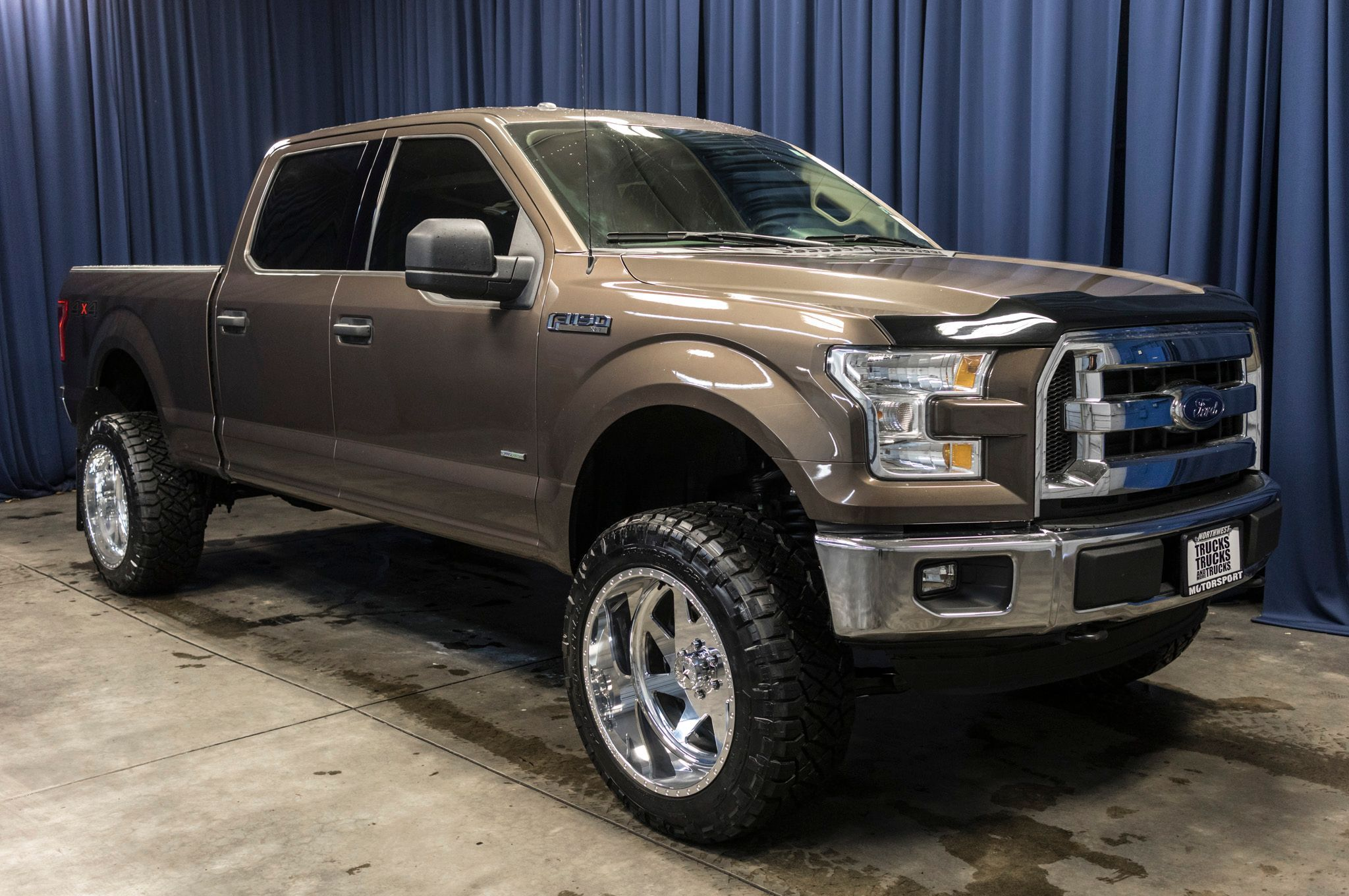 Lifted 2015 Ford F 150 Xlt Ecoboost 4x4 Ford F150 4x4 Trucks For Sale Ford