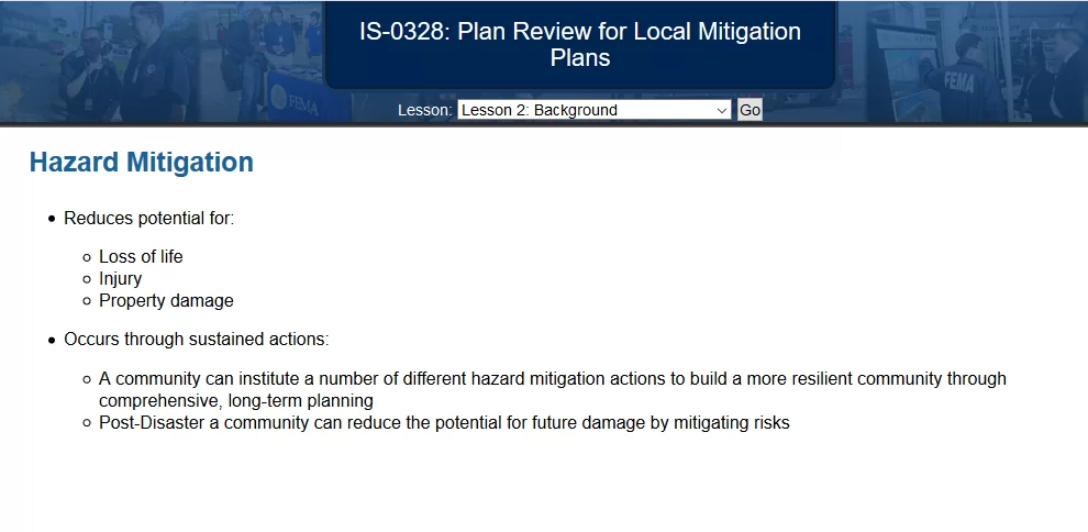 Fema Is 328 Answers Plan Review For Local Mitigation Plans In 2020